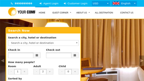 Multi Hotel Booking System Pro