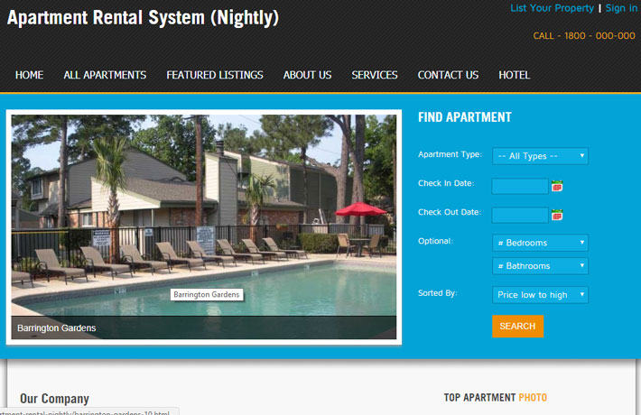 Apartment Rental System