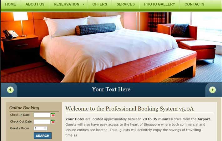 BSI Advance Hotel Booking System
